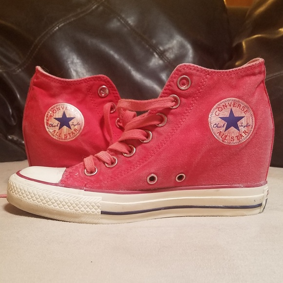 Converse Chuck Taylor Lux Faded Red